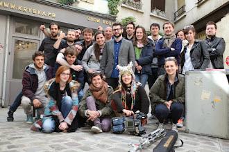 Photo: L'équipe au complet ! Merci à tous pour cette belle aventure ! Il manque Nicolas Temple sur la photo !