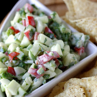 Tomato Cucumber Onion Salsa Recipes