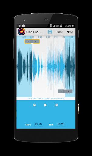 ♪ MP3 cutter Ringtone Editor