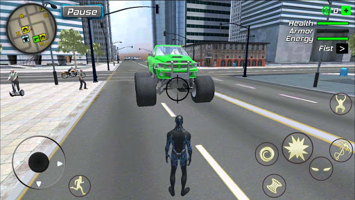 Black Hole Hero : Vice Vegas Rope Mafia 1.0.3 screenshots 3