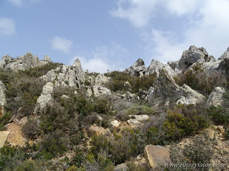 Peguera - Piedra del Padrón - Cortijo del Hato o San José de Casas Nuevas