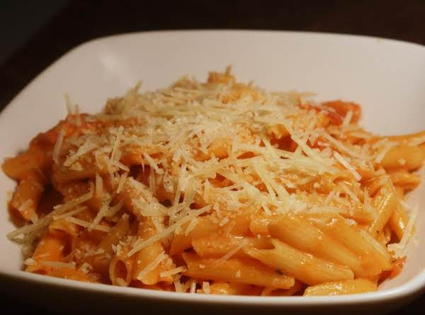 Penne With Creamy Vodka Sauce Recipe