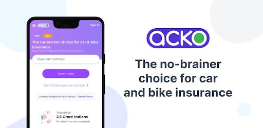 Acko Car And Bike Insurance Apps En Google Play