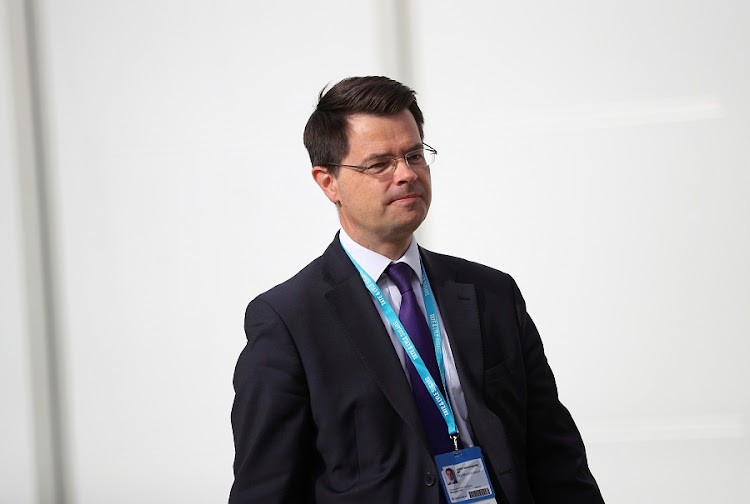 Britain's Northern Ireland Secretary James Brokenshire walks beween venues at the Conservative Party conference in Manchester, Britain October 3, 2017. Picture: REUTERS/HANNAH MCKAY