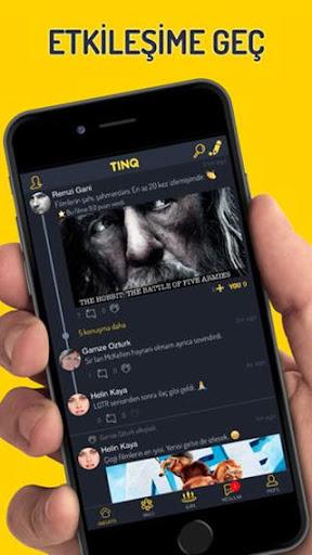 TINQ | Film ve Dizi tavsiyeleriyle sosyal ağ! screenshot 1
