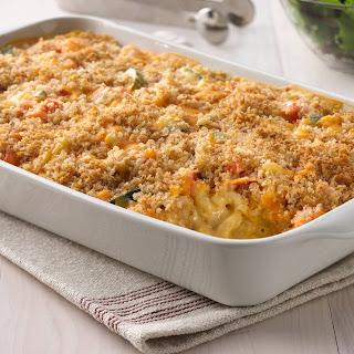 Macaroni and Cheesy Chicken Baked Casserole Recipe