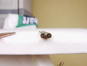 Photo: Mosaikpins eigene Herstellung 6mm