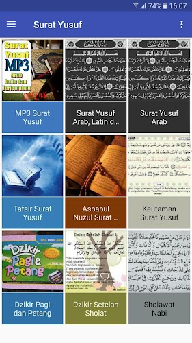 Download Surat Yusuf Mp3 Arab Latin Dan Terjemahan Apk
