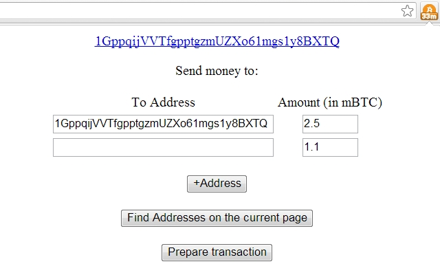 TP's Bitcoin Quick Payments