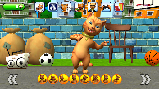 Talking Cat Leo: Virtual Pet 3.0 screenshots 4
