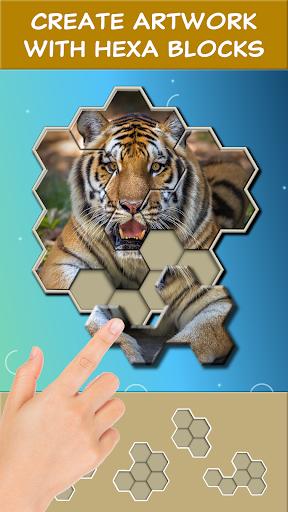 Jigsaw Hexa Block screenshot 2