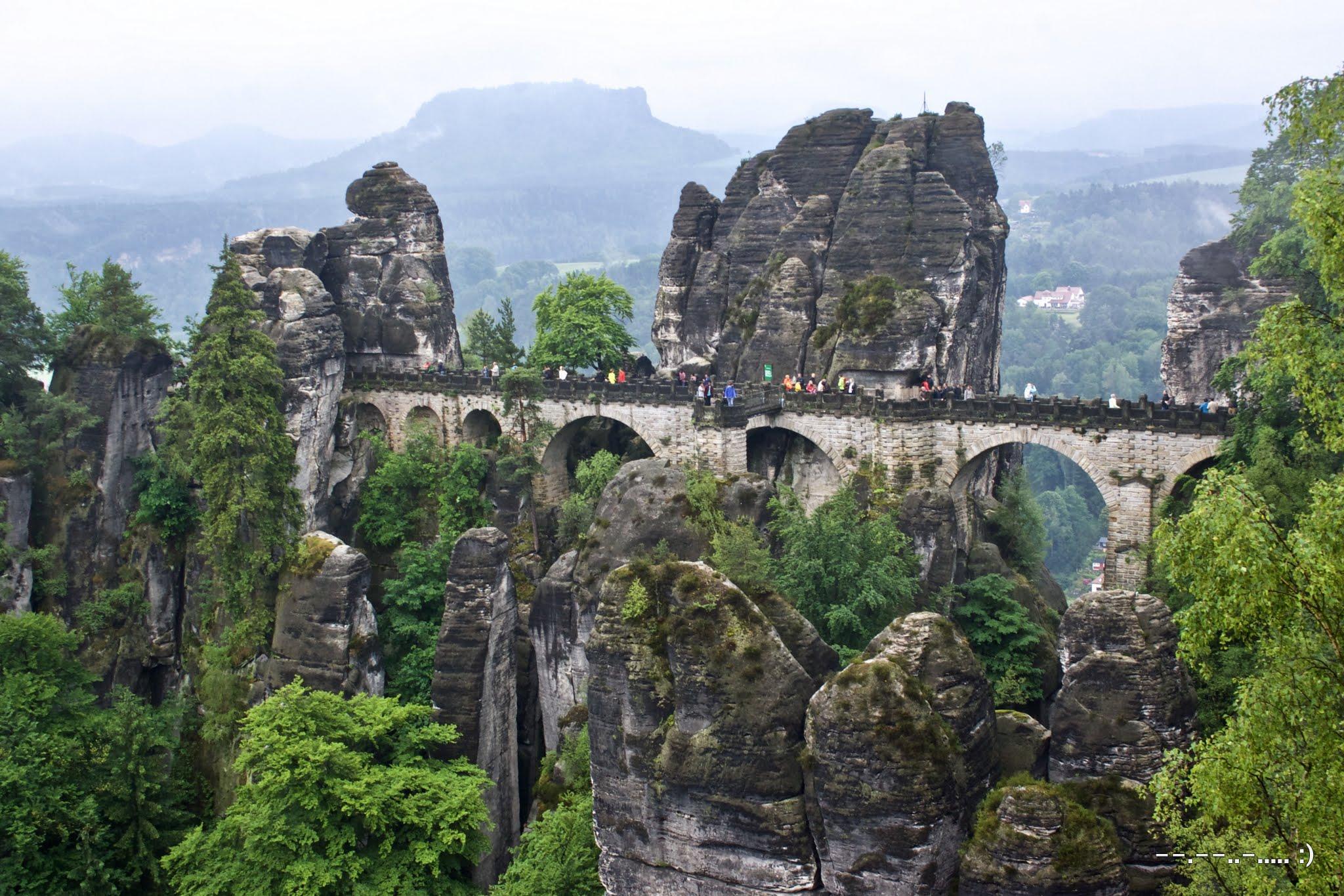 Bastei bridge