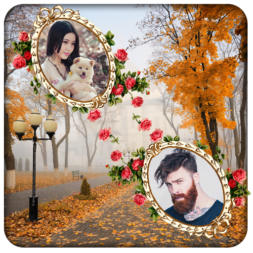 Natural Dual Photo Frame app (apk) free download for Android/PC/Windows