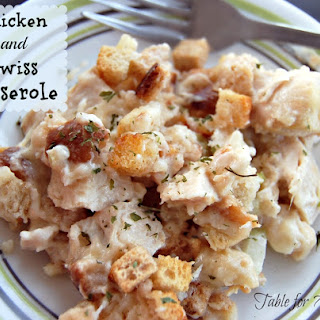 Chicken and Swiss Casserole.