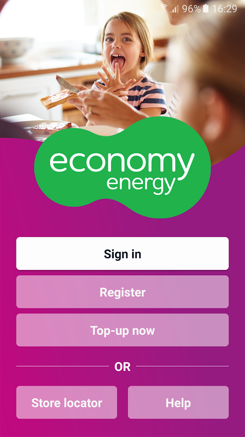 Economy Energy - Top up- screenshot
