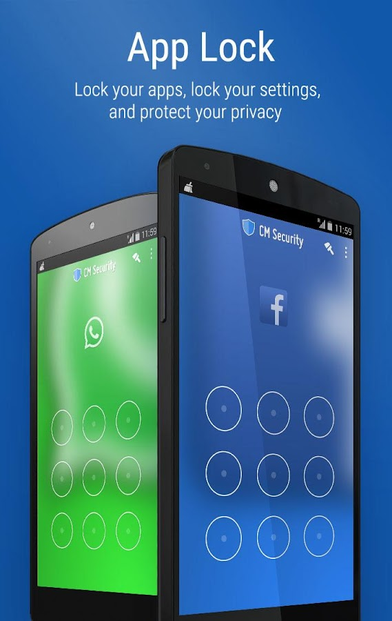 CM Security Antivirus AppLock- screenshot