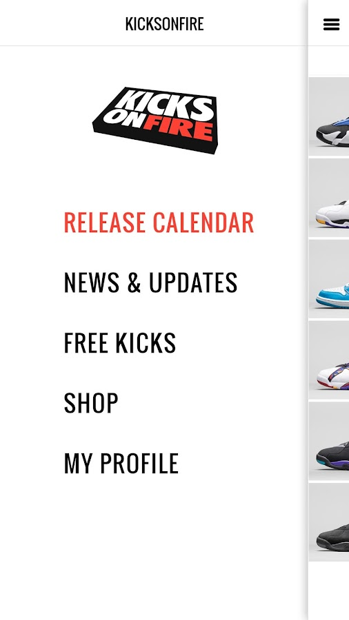 KicksOnFire Air Jordans & Nike- screenshot