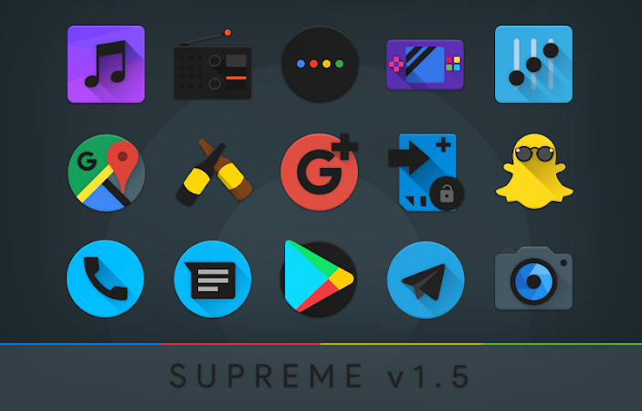 Supreme Icon Pack v3.6