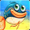 Hungrige Fische essen HD