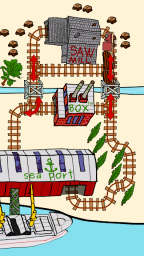 Toot Train Railway Lite! Screenshot