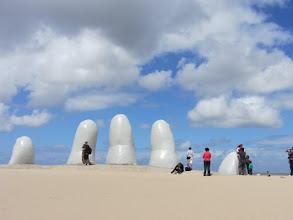 Photo: Los Dedos at Punta Del Este