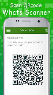 WhatsUp Web Scanner - náhled
