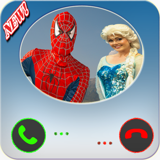 call from superhero and elsa joke