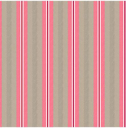 Pip 2020 Blurred Lines Tapet med linjer - Khaki/rosa