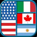 Quiz di geografia - Bandiere icon