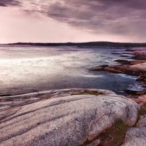Peggys Cove - The House by the Sea by Daniel Schwarz - Landscapes Beaches
