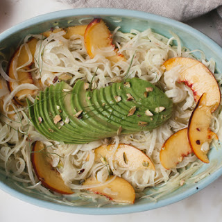 Fennel Salad with Peaches and Avocado