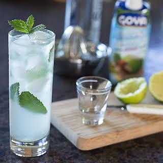 Coconut Water Mojito.