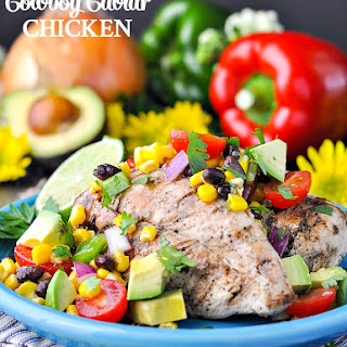 10-Minute Cowboy Caviar Chicken.