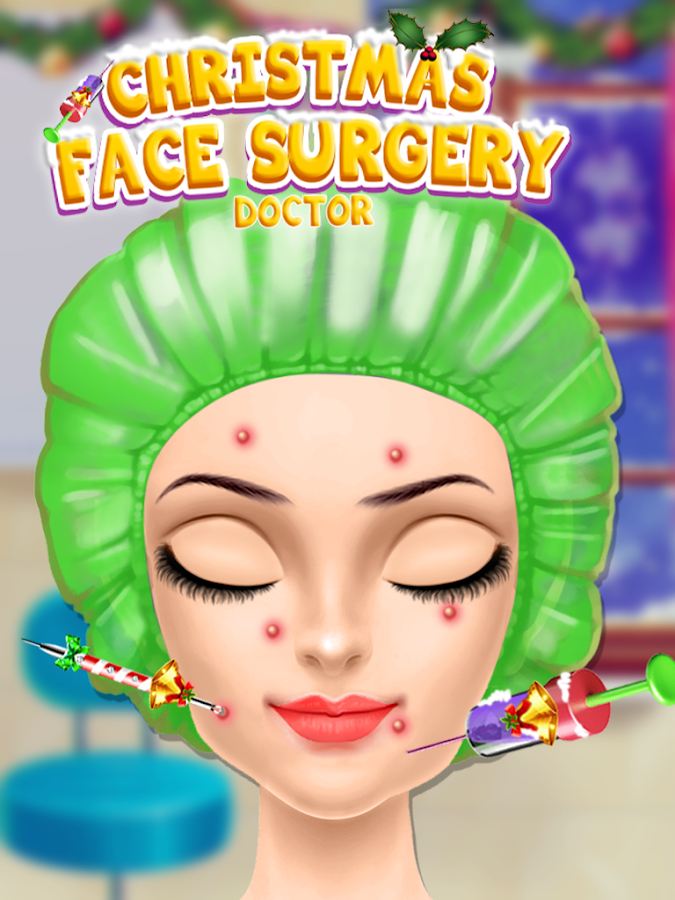 Christmas Face Surgery: Virtual Surgery Hospital- screenshot