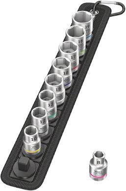 "Wera Belt B 4 Zyklop socket set - 3/8"" drive, 9 pieces alternate image 0"