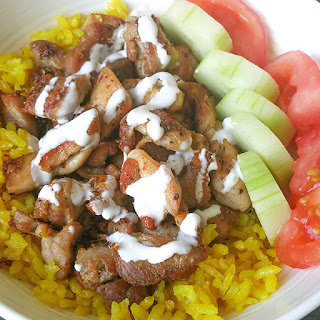 NYC Halal Cart Chicken Over Rice Copycat