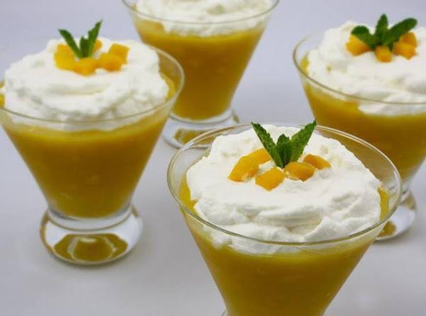 Mango And Lemon Syllabub Recipe
