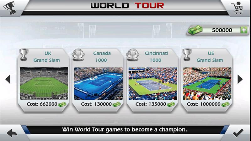 3D Tennis- screenshot