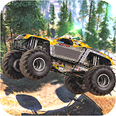 Monster Truck Beach Racing