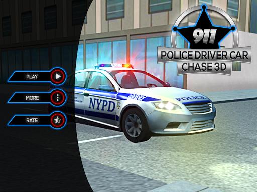 911 Police Driver Car Chase 3D  screenshots 6