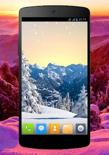 Winter Pro Live Wallpaper Screenshot