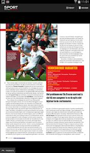 Sport/Voetbalmagazine HD screenshot 5