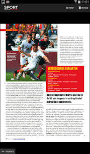 Sport/Voetbalmagazine HD- screenshot thumbnail