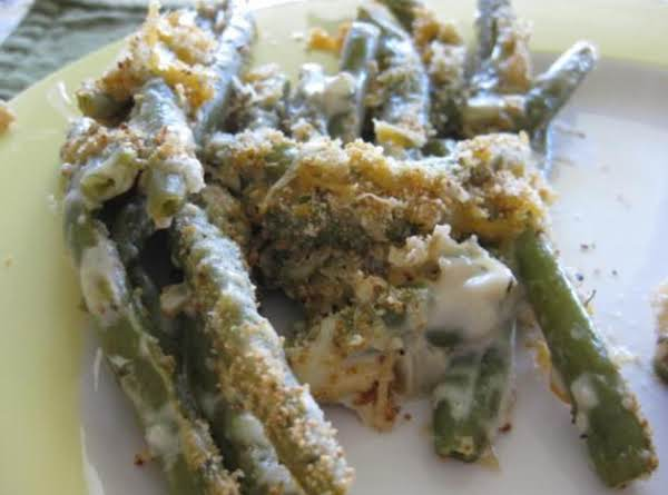 Green Bean Casserole (no Canned Soup) Recipe