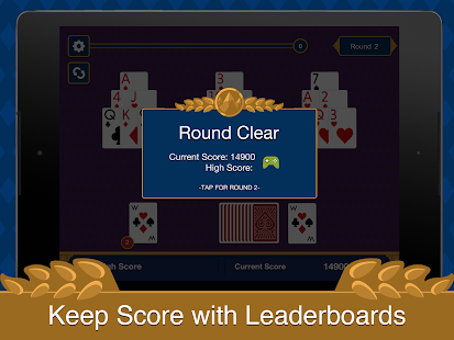 Tri Peaks Solitaire- screenshot thumbnail