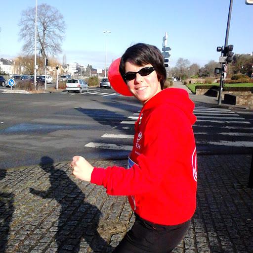 Marion participe au cross Ouest France pour soutenir L'Arche La Ruisselée !