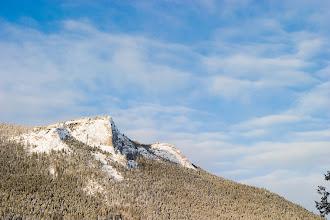 Photo: Deer Mountain on a sub zero morning.