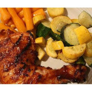 Grilled Glazed Chicken.