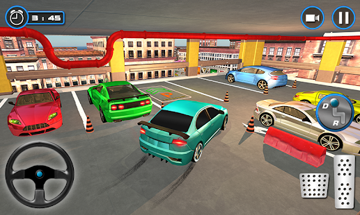 Car parking school 2018: multi-level car driving- screenshot thumbnail