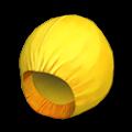 黄色いレインコート(あたま)